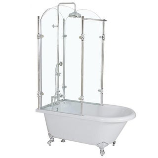 CIRCA 1880 59-Inch Shower Tub