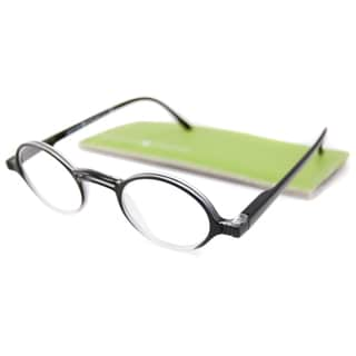Gabriel + Simone Readers Men's/Unisex Rond Round Black-Fade Reading Glasses
