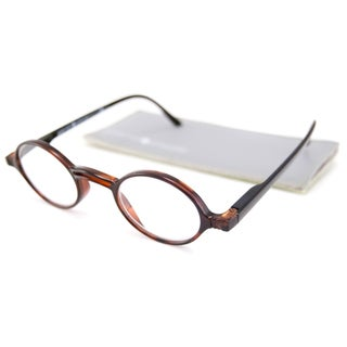 Gabriel + Simone Readers Men's/Unisex Rond Round Tortoise-and-Black Reading Glasses