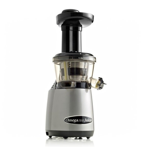 Omega Vertical Masticating HD Juicer with Tap