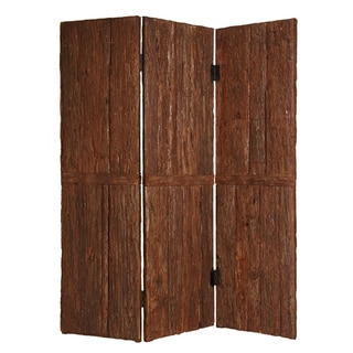 Tahoe 3-panel Wood Screen (China)