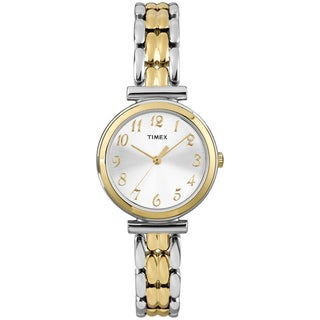Timex T2P2019J Women's 'Elevated Classics' Two-tone Dress Watch