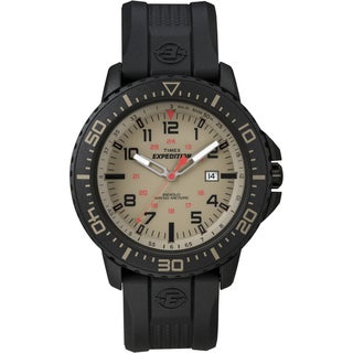 Timex Men's T49942 'Expedition Uplander' Black/Sesame Watch