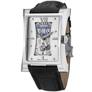 Cuervo Y Sobrinos Men's 'Esplendidos DT' Silver Dial Don Ramon Watch