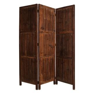 Ponderosa 3-panel Solid Wood Screen (China)