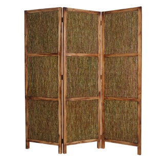Evergreen 3-panel Wood Screen (China)