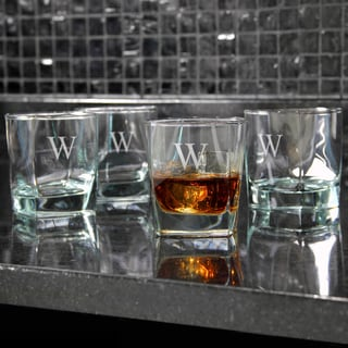 Custom Engraved Rocks Glasses