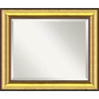 Medium Vegas Burnished Gold Framed Mirror
