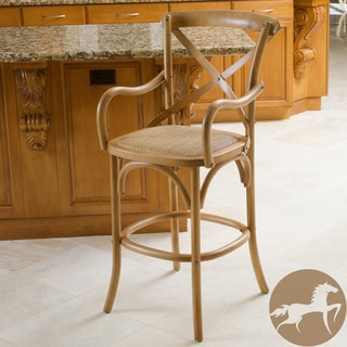 Christopher Knight Home Mandalay Light Brown Bar Stool