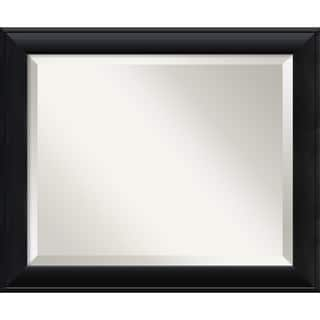 Medium Nero Black Framed Mirror