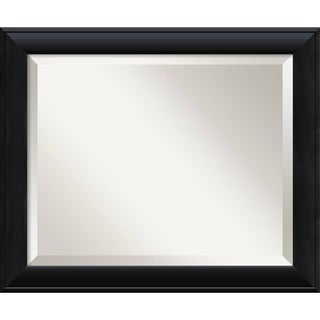 Nero Black 24 x 20 Medium Wall Mirror