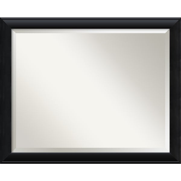 Nero Black Large Wall Mirror