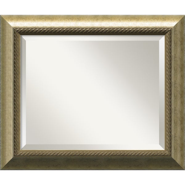 Champagne 25 x 21 Medium Wall Mirror