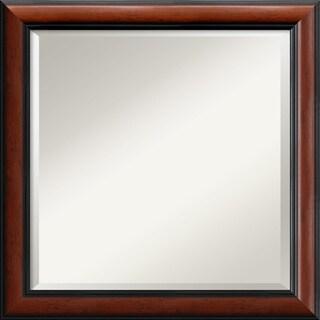 Regency Mahogany24x24-inch Square Wall Mirror