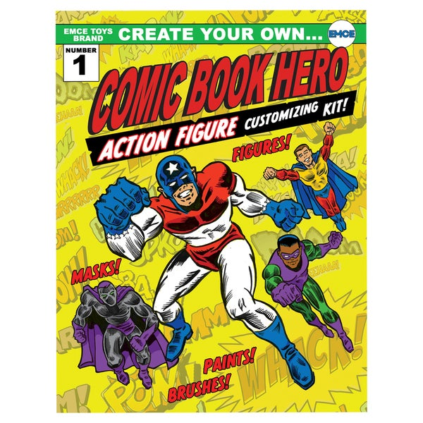 Create Your Own Superhero Action Figure Customizing Kit 11352612
