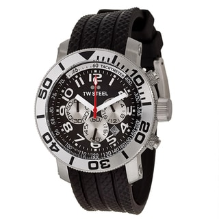 TW Steel Men's 'Grandeur Diver' Black Dial Chronograph Watch