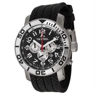 TW Steel Men's 'Grandeur Diver' Stainless Steel Chronograph Watch