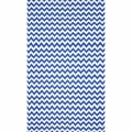 nuLOOM Flatweave Indoor/ Outdoor Reversible Chevron Blue Rug (8' x 10')