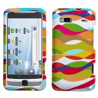INSTEN Pop Wave Phone Case Cover for HTC G2 Vision