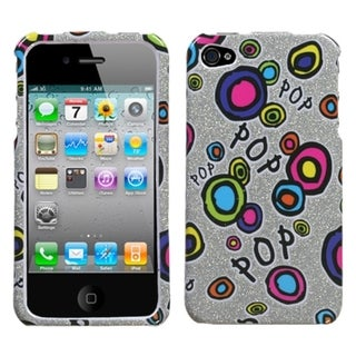BasAcc Pop Candy Sparkle Phone Case for Apple iPhone 4S/ 4