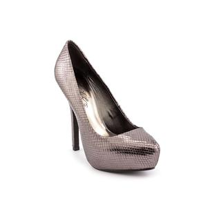 Fergie Women's 'Bunny' Gray Patent-Leather Dress Shoes