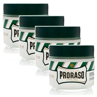 Proraso Pre-Shave Cream Refreshing Eucalyptus & Menthol (Pack of 4)
