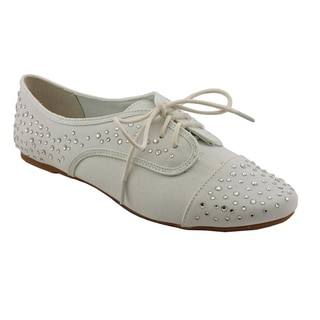 Not Rated Women's 'Pink Star' Basic Textile Casual Shoes