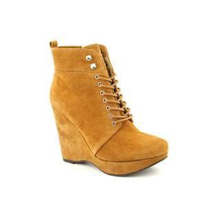 Michael Kors Women's 'Jada Ankle Boot' Regular Suede Boots
