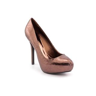 Fergie Women's 'Bunny' Bronze Patent-Leather Dress Shoes