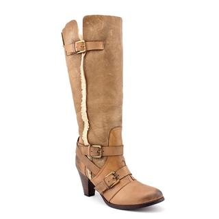 Bronx Women's 'Tainted Love' Leather Boots (Size  10 )