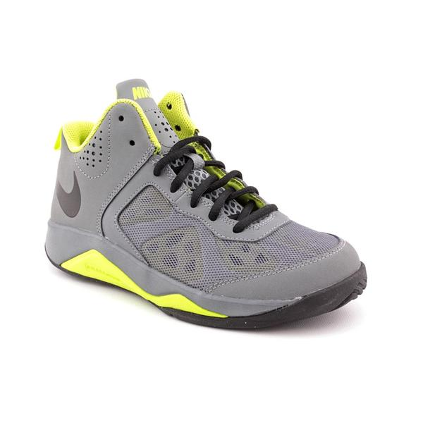 Nike Boy Youth 'Dual Fusion BB GS' Synthetic Athletic Shoe