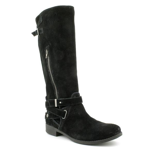 Gunmetal Women's 'Luma Lee' Regular Suede Boots