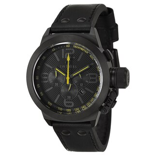TW Steel Men's 'Canteen' Stainless Steel Black PVD Coated Chronograph Watch