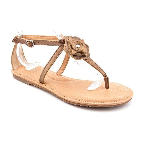 Fossil Women's 'Hayden Flwr Sandal' Leather Sandals