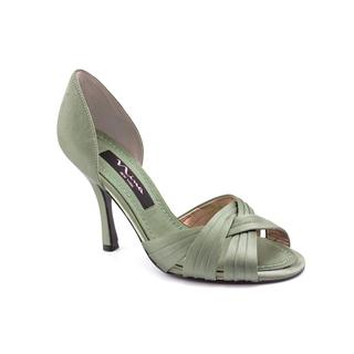 Nina Women's 'Cadence' Satin Dress Shoes - Green