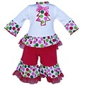 AnnLoren Tree & Polka Dot Doll Outfit fits American Girl Dolls
