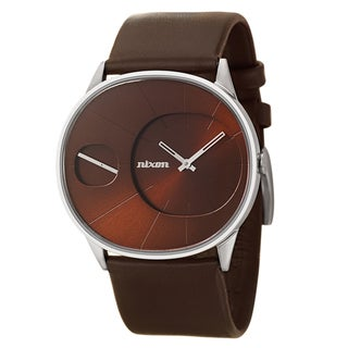Nixon Women's 'The Rayna' Brown Leather Strap Retro Watch