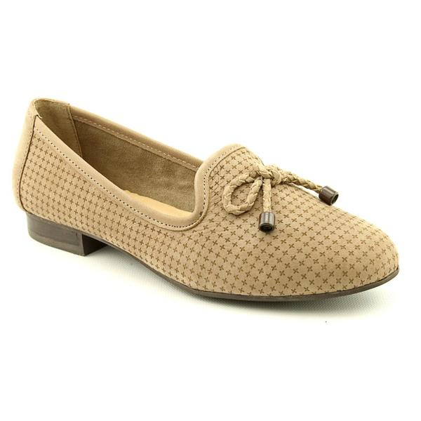 Me Too Women's 'Yanissa 8' Nubuck Brown Casual Shoes