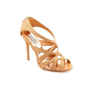 Badgley Mischka Women's 'Junebug' Basic Textile Sandals
