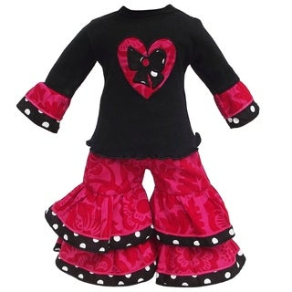 AnnLoren Blossom Heart Outfit for American Girl Doll