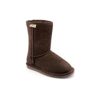 Bearpaw Girl Youth 'Eva Short' Regular Suede Boots