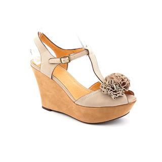 Nicole Women's 'Abloom' Regular Suede Sandals
