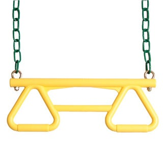 Backyard Discovery Yellow Trapeze Swing