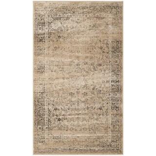 Safavieh Vintage Warm Beige Viscose Rug (2'7 x 4')