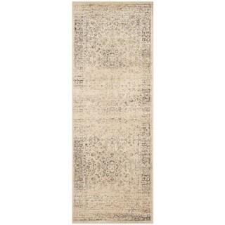 Safavieh Vintage Warm Beige Viscose Rug (2'2 x 6')