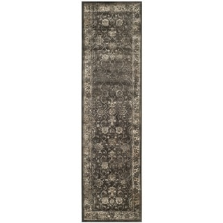 Safavieh Vintage Soft Anthracite Viscose Area Rug (2'2 x 8')