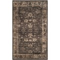 Safavieh Vintage Anthracite Grey Viscose Area Rug (3'3 x 5'7)