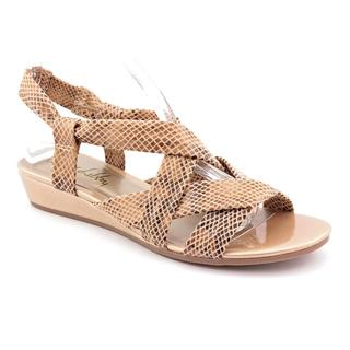 Sam & Libby Women's 'Beaming' Fabric Sandals