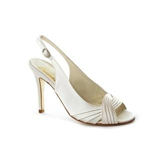 Bridal by Butter Women's 'Christie' Ivory Satin Dress Pumps