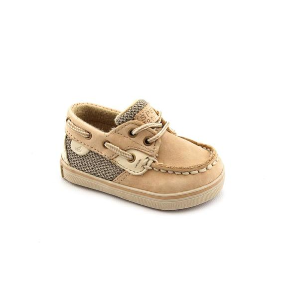 Sperry Top Sider Infant Girl 'Bluefish Crib' Leather Casual Shoes
